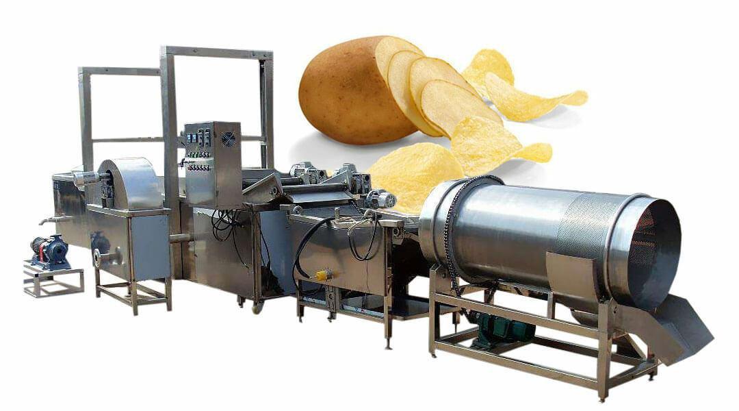 خط انتاج شيبس البطاطس الطبيعي