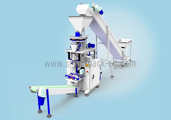 ماكينة تعبئة وتغليف سكر و ارز و بقوليات