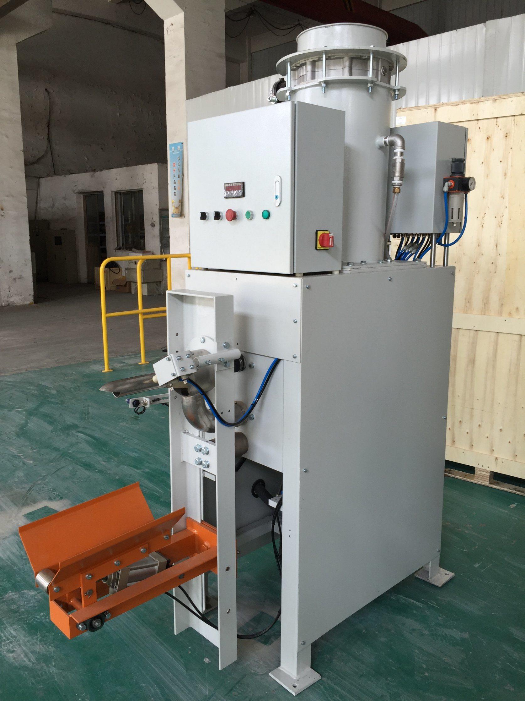 ماكينة تعبئة الاسمنت - جيبس -مواد بناء -مبيدات - اسمدة